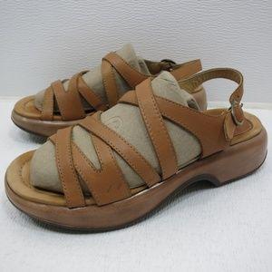 Dansko Strappy Slingback Sandals 40